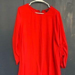 Halogens Red Dress